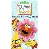 Sesame Street Elmo's World Flowers Bananas and more!