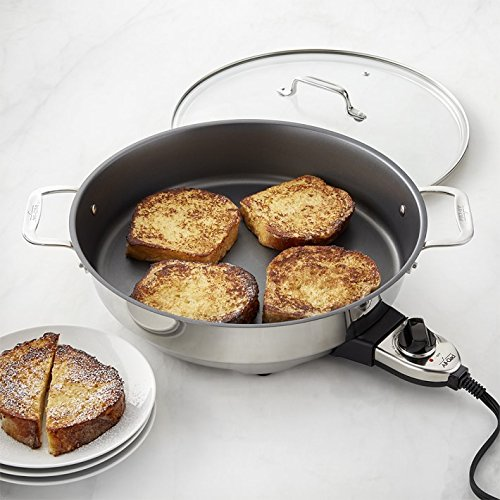 7 inch electric fry pan - 8