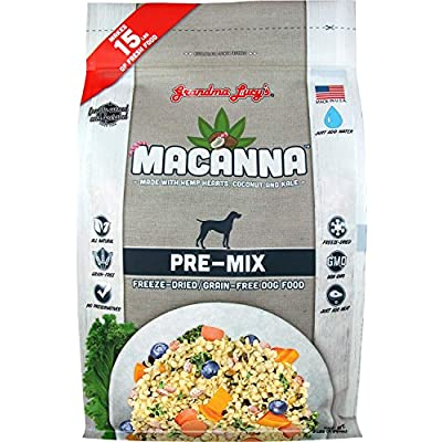Grandma Lucy's 1 Piece Macanna Pre-Mix Recipe Grain-Free Dog Food, Small/3 lb Fast Delivery by Just Jak's Pet Market