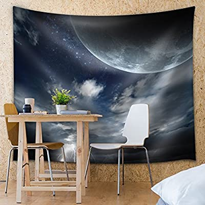 Created Just For You, Unbelievable Handicraft, A Cloudy View of The Moon and Sky