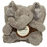 SILVER ONE Sherpa Plush Stuffed Animal Throw