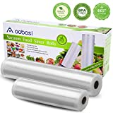 Aobosi Vacuum Sealer /5 In 1 Automatic Food Sealer Machine for Food Saver and Preservation with Dry&Moist Modes for Sous Vide,Led Indicator Lights& Started Kit of Rolls&Hose for Home&Commercial Use
