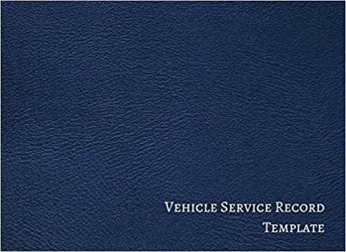 vehicle service record template