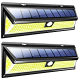 Cheap Solar Motion Sensor COB LED Light by RELIGHTABLE, Ultra Bright 950 Lumens, Perfect for Illuminating Patios, Backyard, Outdoor Walkways and Pathways, Entries, Exits, Dark Alleys, RVs, Garages (2 Pack)