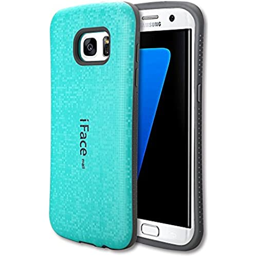 Samsung Galaxy S7 Edge Case,YUNQE iFacemall,TPU Shockproof Anti Scratch Rugged Cover for Samsung Galaxy S7 Edge Edge (Sky Blue) Sales