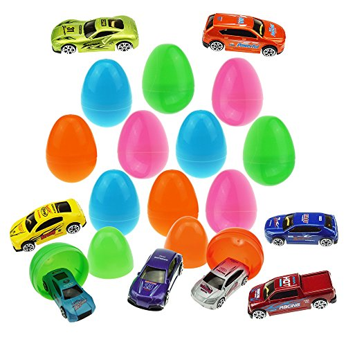 12-Die-Cast-Car-Filled-Big-Easter-Eggs-with-Different-Die-cast-Cars