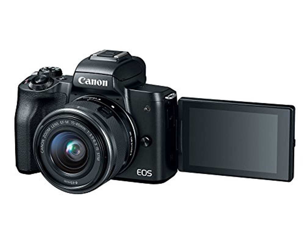 Canon EOS M50 Mirrorless Camera w/15-45mm (Black) + 2 x 32GB + Deluxe Photo Bundle by Canon (Image #7)