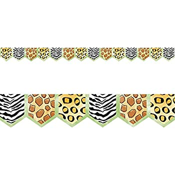 LL-943 Office Products Double-Sided Border-Africa Say-It Safari Barker Creek