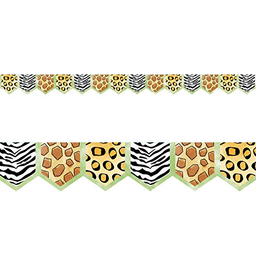 Creative Teaching Press  Safari Friends Safari Prints Border, Ctp 8339 with