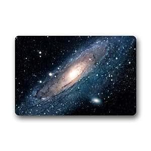 """Galaxy Space Universe Pattern Doormat,Indoor/Outdoor Floor Mat,23.6""""(L)x15.7""""(W)"""