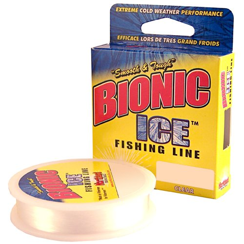 Northland BI125-4-CL 125-Yard Bionic Ice Line, 4-Pound, Clear