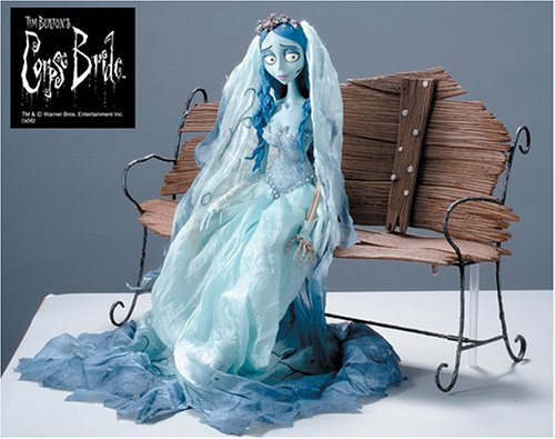 Corpse Bride with Bench Japanese Collection Doll (The Corpse Bride Emily)