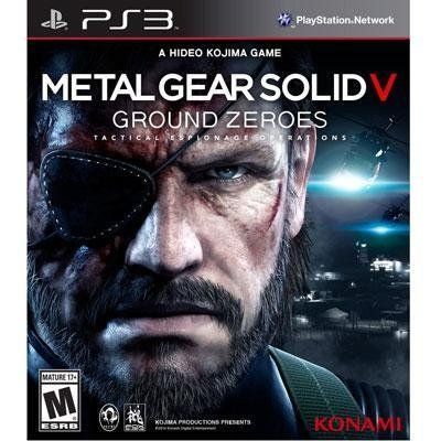 Metal Gear Solid V Ground Ps3