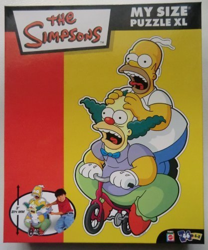 Simpsons Family My Size XL 46 Piece Puzzle