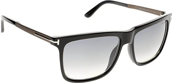 adffcc70db Tom Ford TF392 02W Black Karlie Rectangle Sunglasses Lens Category 2 Size  57mm  Amazon.co.uk  Clothing