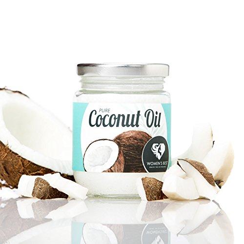 Coconut-Oil │ Kaltgepresstes Kokosöl Nativ aus 100% handgepflückter Kokosnüssen vielseitig einsetzbar │ Der gesunde Allrounder für die Küche und die Schönheitspflege / 200ml im Glas