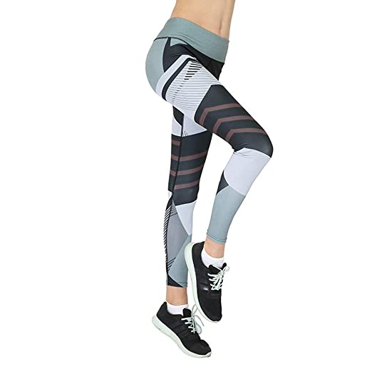 7f543f8e1e Image Unavailable. Image not available for. Color: LISTHA Women Yoga  Leggings Sports Cropped Pants 3D Print Skinny Workout Gym