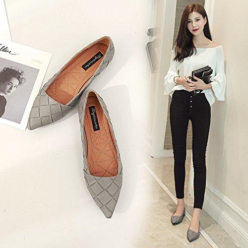 de Tac Qiqi Corte la Zapatos de Zapatos Xue 1q78Y