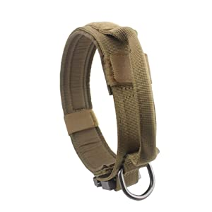 Yunlep Military Nylon Tactical Dog Collar