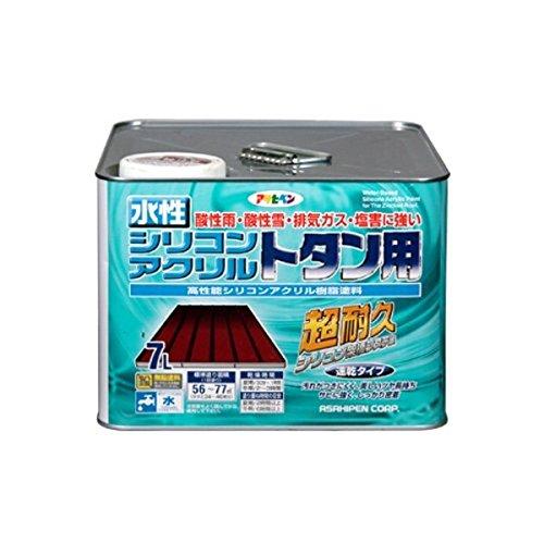 水性シリコンアクリルトタン用 こげ茶 7L【代引不可】 ds-1854595