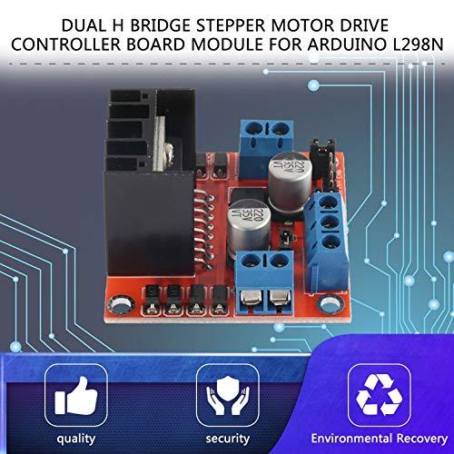 ukYukiko Dual H Bridge Stepper Motor Drive Controller Board Modul f/ür Arduino L298N