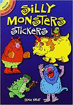 Book Silly Monsters Stickers (Dover Little Activity Books Stickers)