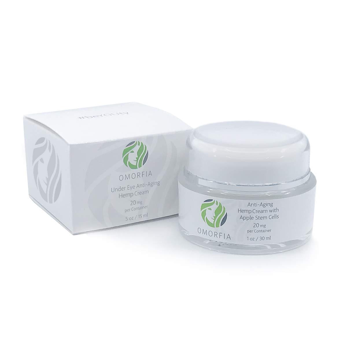 Omorfia Hemp Extract Anti-Aging Cream with Apple Stem Cells - 20mg 1oz