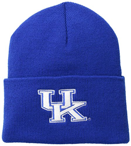 NCAA Kentucky Wildcats Acrylic Watch Hat, Cyan Blue, One Size