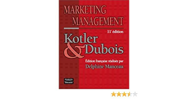 Kotler Dubois Marketing Management Pdf