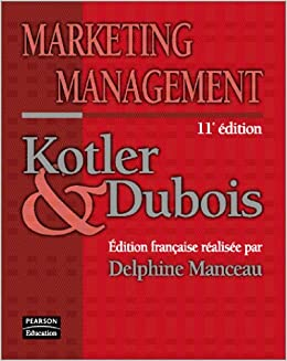LIVRE MARKETING MANAGEMENT KOTLER DUBOIS GRATUIT