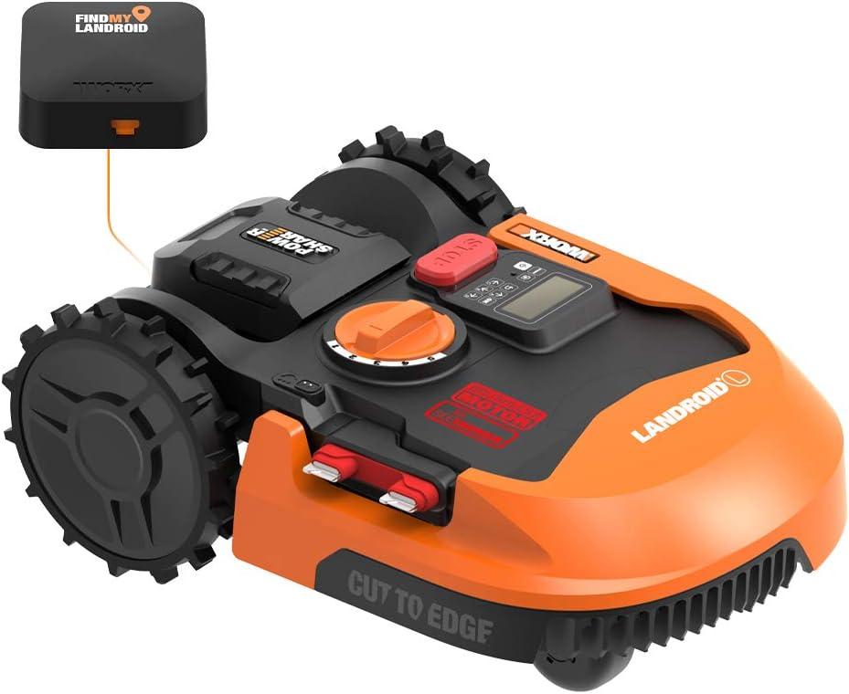 worx landroid wr140 robot lawn mower