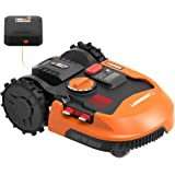 Worx WR153 Landroid L 20V Power Share Robotic Lawn Mower with GPS Module Included, Orange