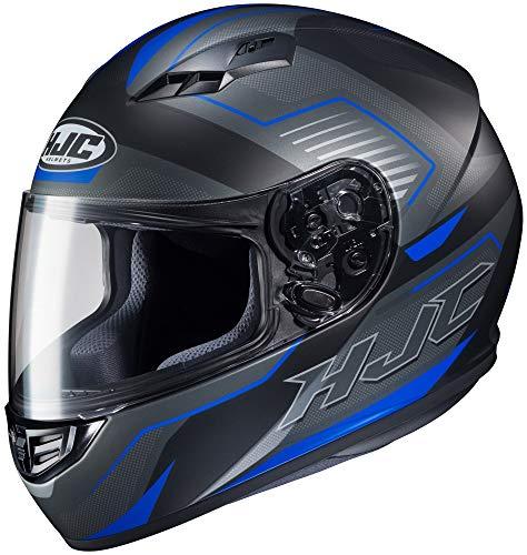 HJC CS-R3 Helmet - Trion (Large) (Black/Blue)