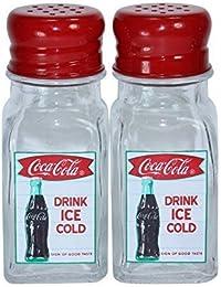 Favor Coca-Cola Salt & Pepper Shakers by Sunbelt Marketing Group saleoff