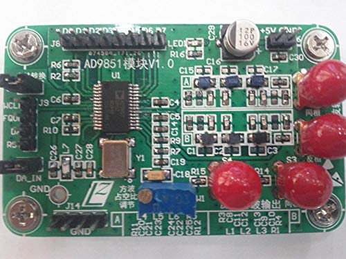 Lysee AD9851 module high speed DDS sine wave, square wave signal g enerator Fang Bo adjustable duty ratio ()