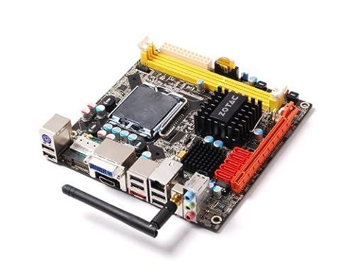 ZOTAC GeForce WiFi LGA 775 Mini ITX Intel Motherboard G45ITX-B-E - X4500hd Graphics