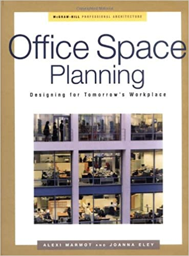 amazoncom office space planning designing for tomorrows workplace professional architecture 0639785319351 alexi marmot joanna eley books amazoncom stills office space