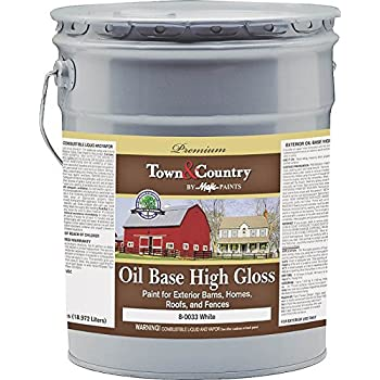Yenkin Majestic Paint 8 0033 5 Gloss Barn Home Roof