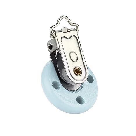 TianranRT Baby Chupete Clip Seguridad de Madera Mordedor ...