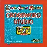 Crossword Studio Teacher Created Materials