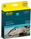 RIO Products Bonefish Quickshooter, Aqua Blue/Sand, WF7F W/3 PK For Sale