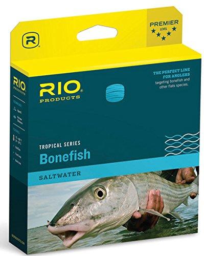 RIO Products Bonefish Quickshooter, Aqua Blue/Sand, WF7F W/3 PK