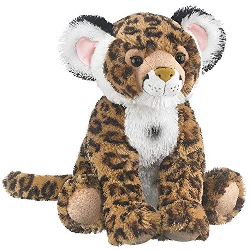 Wildlife Tree 18 Inch Jaguar Floppy Zoo Stuffed Animals Conservation Collection (Jaguars Snuggie)