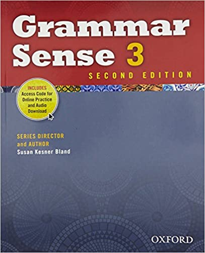Amazon grammar sense 3 student book with online practice access amazon grammar sense 3 student book with online practice access code card 9780194489164 susan kesner bland books fandeluxe Image collections