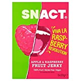 Snact. Apple & Raspberry Fruit Jerky Multipack - 5 x 20g (0.22lbs)