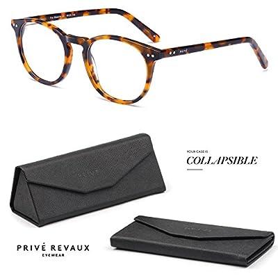 "PRIVE REVAUX ""The Maestro"" Handcrafted Designer Eyeglasses (Tortoise)"