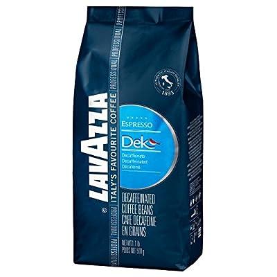 Lavazza Dek Espresso - 1.1 lb. Whole Bean Espresso Bag