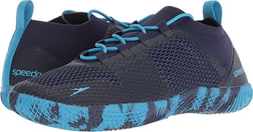 Speedo Women's Fathom AQ Fitness Water Shoes, Navy/Blue, 7H C/D US