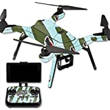 MightySkins Protective Vinyl Skin Decal for 3DR Solo Drone Quadcopter wrap cover sticker skins Bombs Away