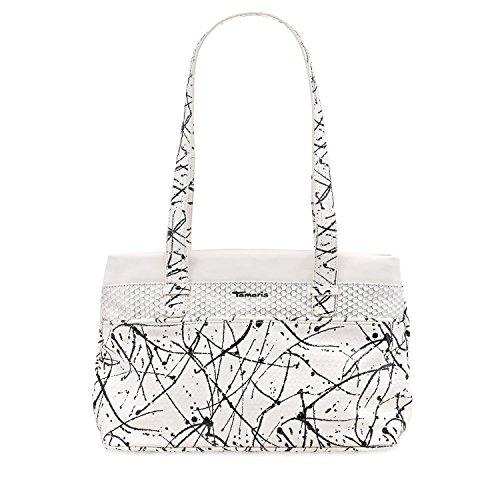 Tamaris Khema Shoulder Bag - Bolso de hombro Mujer Weiß
